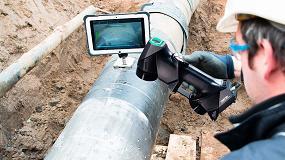 Foto de Creaform amplía su gama de soluciones de END para el sector del petróleo y el gas con el escáner de luz blanca el Go!SCAN 3D