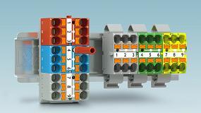 Foto de Bloques de distribución listos para conectar para un montaje flexible