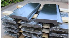 Foto de Metalmaq entrega punzones especiales de 7 metros a una empresa fabricante de grandes estructuras metálicas