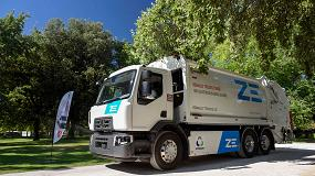 Foto de Renault Trucks entrega a Urbaser el primer camión comercializado en España 100% eléctrico de serie