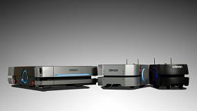Foto de Omron presenta el robot móvil HD-1500, con una capacidad de carga útil de 1.500 kg