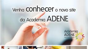 Foto de Portal Academia ADENE com nova imagem