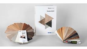 Foto de Cantisa dispone de cantos para la gama Kronodesign Trends 20/21 de Kronospan