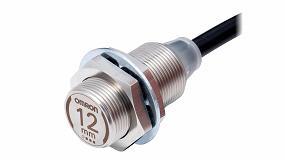 Foto de Omron los nuevos sensores de proximidad E2EW para la detección fiable de hierro y aluminio