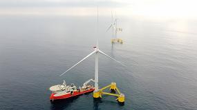 Foto de El primer parque eólico flotante de Europa continental ya está totalmente operativo