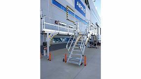 Foto de Svelt diseña, desarrolla y construye gradas móviles de aluminio soldado para Airbus