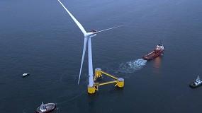 Foto de Primeiro parque eólico flutuante da Europa está totalmente operacional