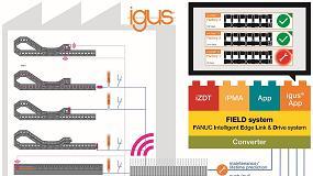 Foto de igus desenvolve uma aplicação com smart plastics para o sistema FIELD da Fanuc
