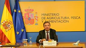 Foto de El ministro Planas y su homólogo francés dialogan sobre la nueva PAC y el comercio agroalimentario