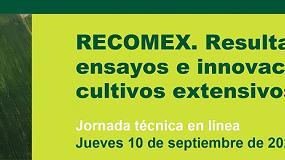 Foto de El IRTA organiza una nueva jornada RECOMEX sobre las últimas novedades en cultivos extensivos