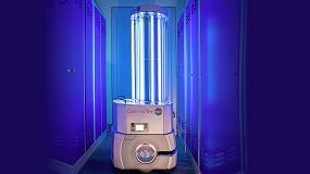 Foto de Soluciones de desinfección con robots móviles equipados con luces UV