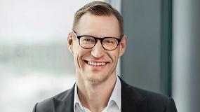 Foto de Anders Dahlblom, nuevo presidente y CEO de Glaston Corporation