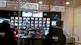 Foto de Equipos de purificación de aire Eurofred en la sala de control y de prensa del Circuit de Barcelona-Catalunya