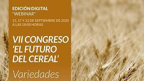 Foto de El VII Congreso 'El futuro del cereal' organizado por la revista Tierras se celebrará en formato online
