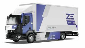 Foto de El Grupo Delanchy confirma su compromiso con la movilidad eléctrica junto a Renault Trucks