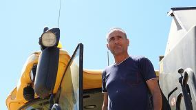 Foto de Eusebio Miguel, un convencido del uso de nuevas tecnologías en el cultivo de los cereales