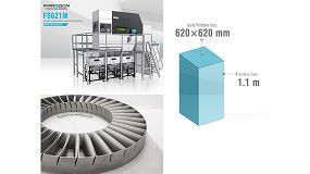 Foto de MaqCenter presenta FS621M, un sistema de sinterización láser de metal a escala industrial