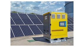 Foto de Nuevos sistemas de almacenamiento de energía ZenergiZe de Atlas Copco