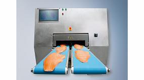Foto de Corte de porciones de carne extremadamente rápido y altamente preciso, basado en PC