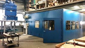 Foto de Teka y LWB WeldTech diseñan una cabina insonorizada para la amoladura y soldadura de aluminio y aceros