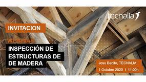 Foto de Tecnalia organiza un webinar sobre la inspección en estructuras de madera