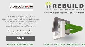 Foto de ¡Aprovecha la invitación de Protección Solar para visitar REBUILD!