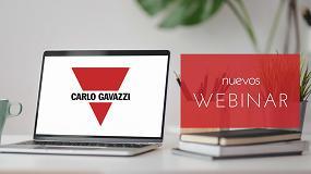 Foto de Carlo Gavazzi explica en un webinar las ventajas de emplear arrancadores suaves