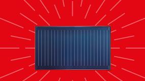 Foto de Coletor Solar WarmSun FKC-2W (ficha de produto)