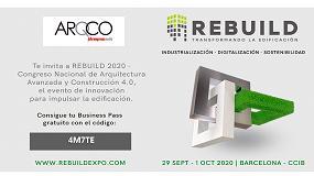 Foto de ¡Aprovecha la invitación de iARQCO para visitar Rebuild!