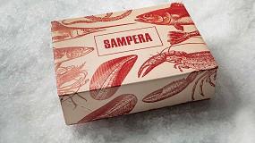 Foto de Sampera apuesta por la caja de cartón Sumbox de Hinojosa para enviar pescado y marisco fresco de alta gama a sus clientes