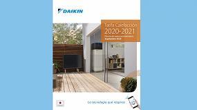 Foto de Daikin lanza su nueva Tarifa de Calefacción 2020/21