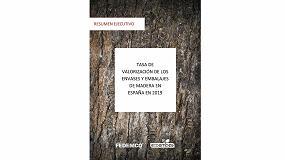 Foto de Tasa de valorización de los envases y embalajes de madera en España en 2019