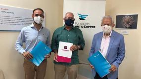 Foto de La Fundación Atlantic Copper sella una década de compromiso con la Fundación Valdocco