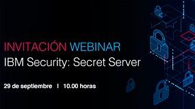 Foto de Tech Data organiza el webinar 'IBM Security - Secret Server'