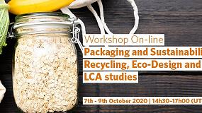 Foto de Workshop online 'Packaging and Sustainability, Recycling, Eco-Design and LCA Studies'