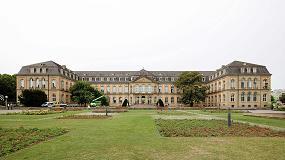 Foto de Restauración cuidadosa de las ventanas de madera del Palacio Nuevo de Stuttgart