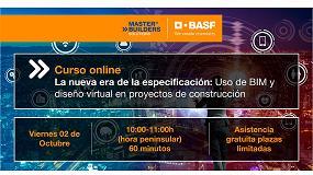 Foto de Próximo curso online de BASF sobre ´Uso de BIM y diseño virtual en proyectos de construcción´