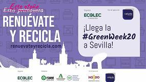 Foto de La Fundación Ecolec culmina la cuarta edición de la #GreenWeek20 en Sevilla con la colaboración del Celside Insurance