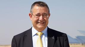 Foto de Luis Crespo, presidente de Protermosolar, galardonado con el premio Lifetime Award