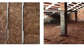 Foto de Lã Volcalis, placas Gyptec e argila expandida Argex elegíveis para o Programa de Apoio a Edifícios Mais Sustentáveis