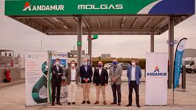 Foto de Andamur inaugura su primera gasinera en Guarromán (Jaén)
