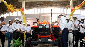 Foto de Kubota inicia la producción de tractores en serie en India