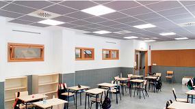Foto de Centros escolares con sistemas de ventilación, clave para mejorar la calidad del aire