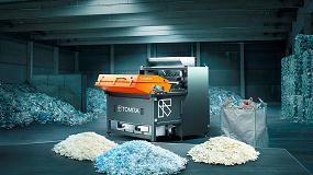 Foto de La última solución de Tomra Sorting Recycling para escama de plástico ofrece resultados sin precedentes