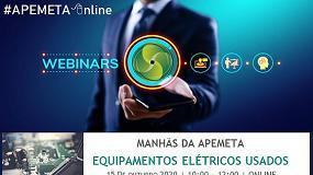 Foto de Apemeta debate equipamentos elétricos usados