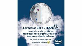 Foto de Beko presenta SteamCure, la tecnología que elimina alérgenos y bacterias de la ropa