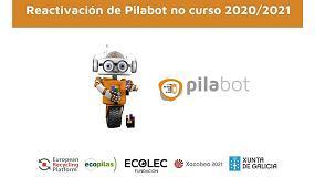 Foto de Se reactiva la campaña Pilabot de recogida de pilas en centros escolares