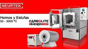 Foto de Neurtek, nuevo representante de Carbolite-Gero, fabricante de estufas y hornos de secado