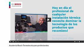 Foto de Bosch Comercial e Industrial presenta su nuevo plan de formación online a través de su Aula Digital