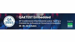 Foto de La conferencia QA&TEST embedded de 2020 pasa a ser 100% online a finales de octubre